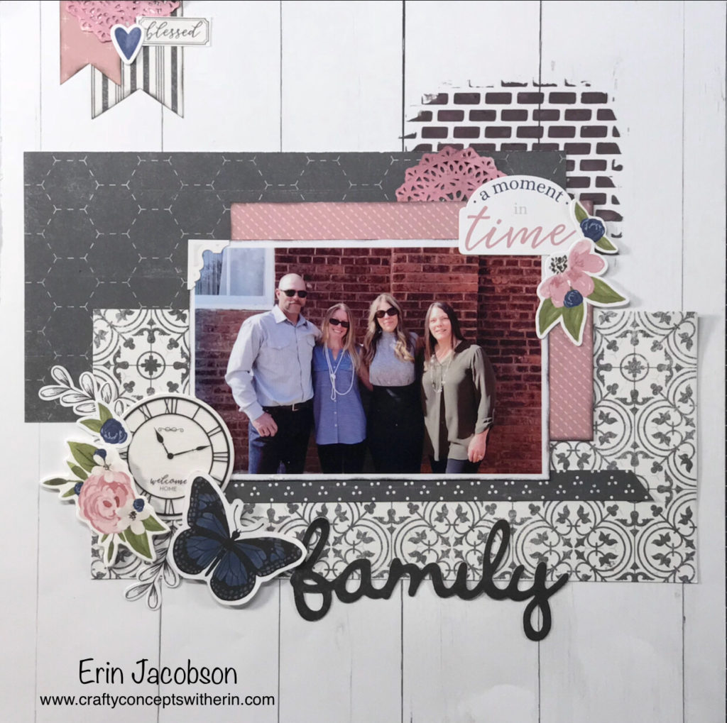 6c708254a72 ... I created featuring the  Feels Like Home  paper collection. This is a  beautiful kit with an elegant design. It inspired me to create several  layouts of ...