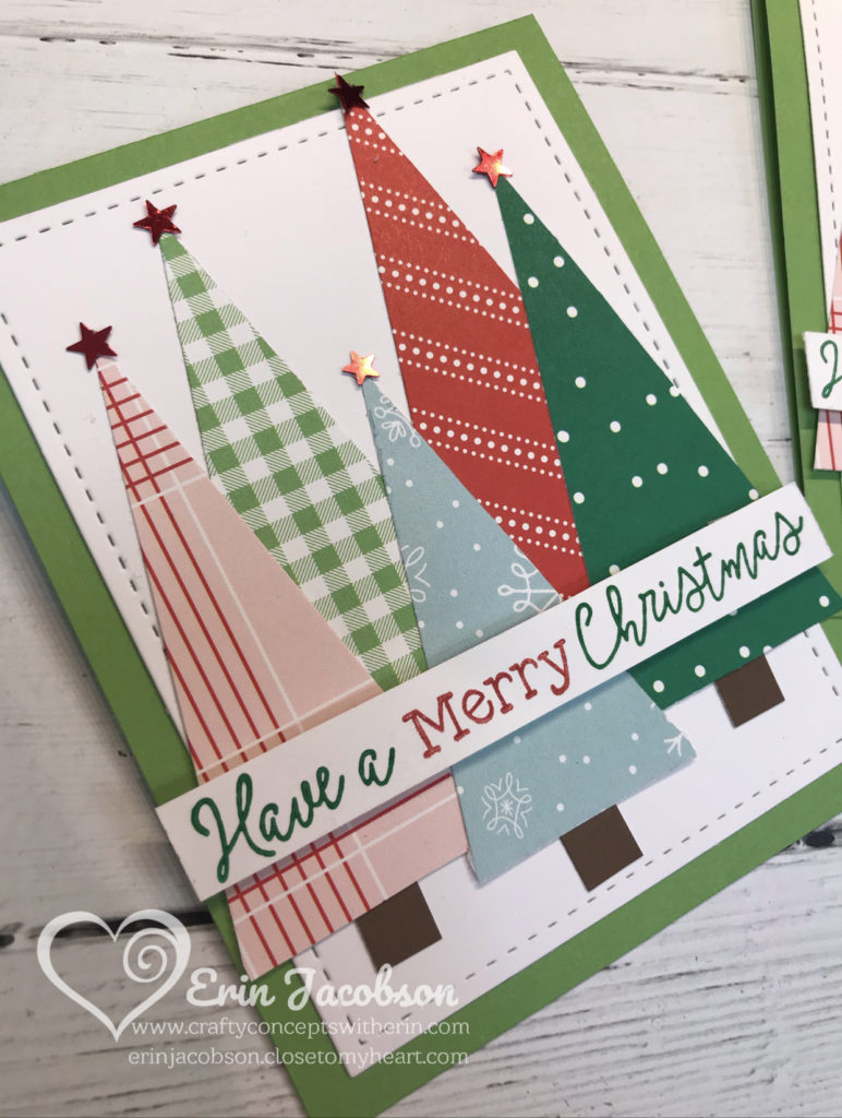 The 12 Days Of Christmas Cards Day 10 Crafty Concepts With Erin